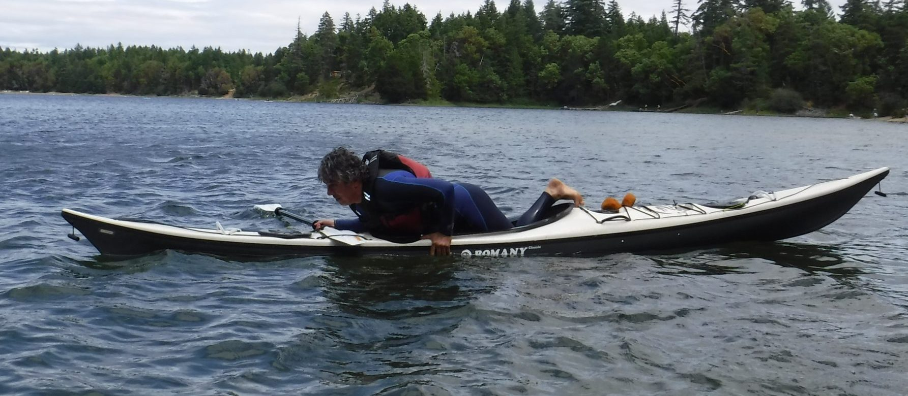 Re-Entering a Kayak after a capsize is an essential safety skill.